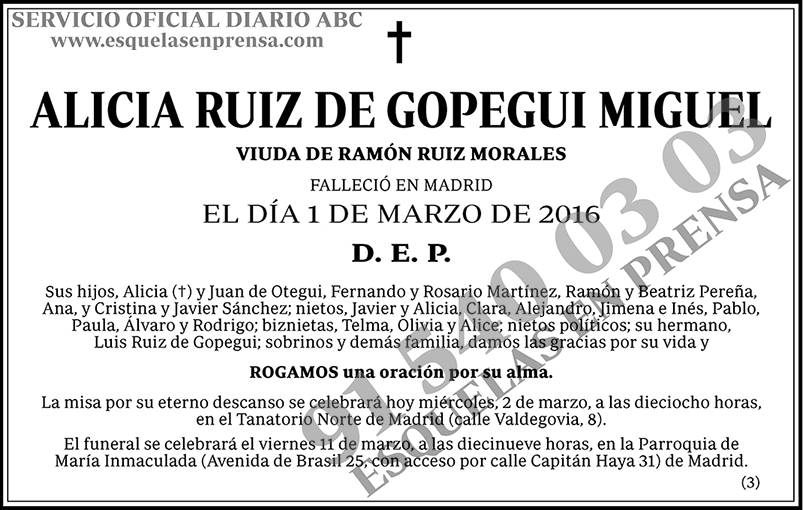 Alicia Ruiz de Gopegui Miguel